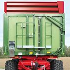 Silage attachments, available in green or red